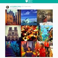 Instagram #2017bestnine